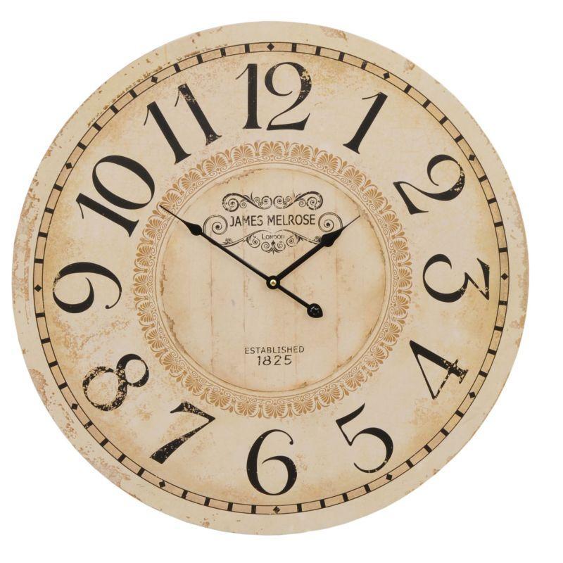 1- Nástěnné hodiny JAMES MELROSE 1825