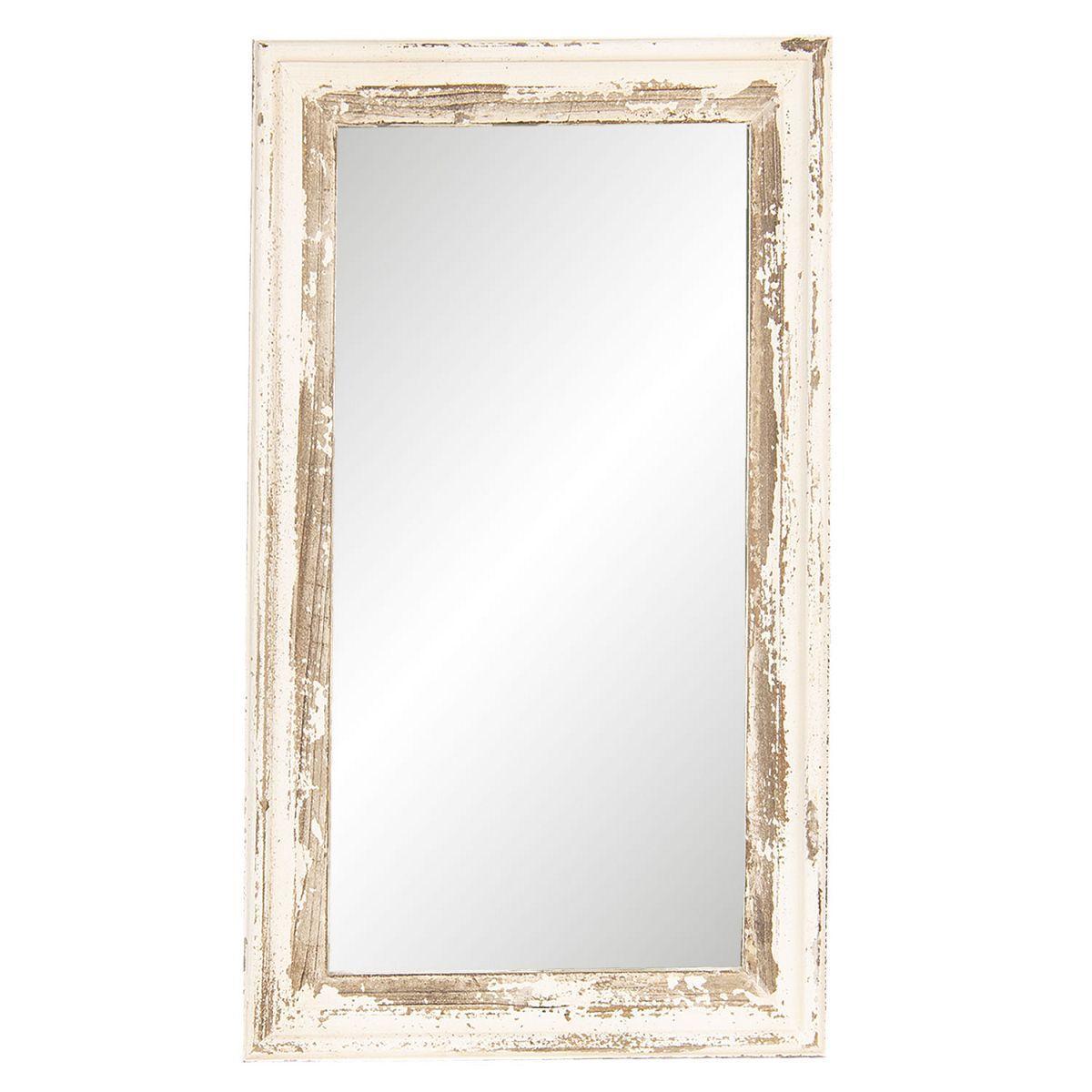 1- Nástěnné zrcadlo patina