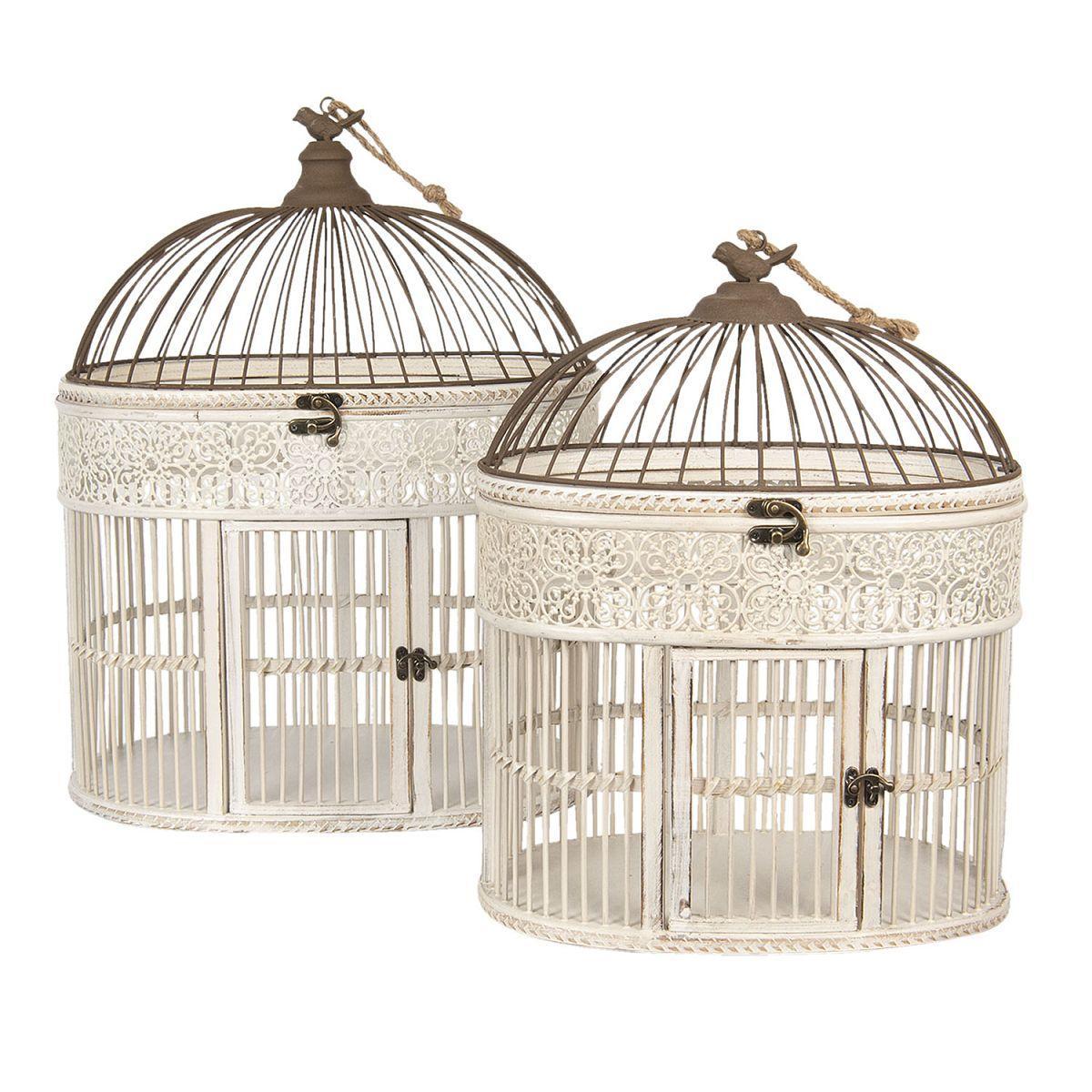 Dvě ptačí klece