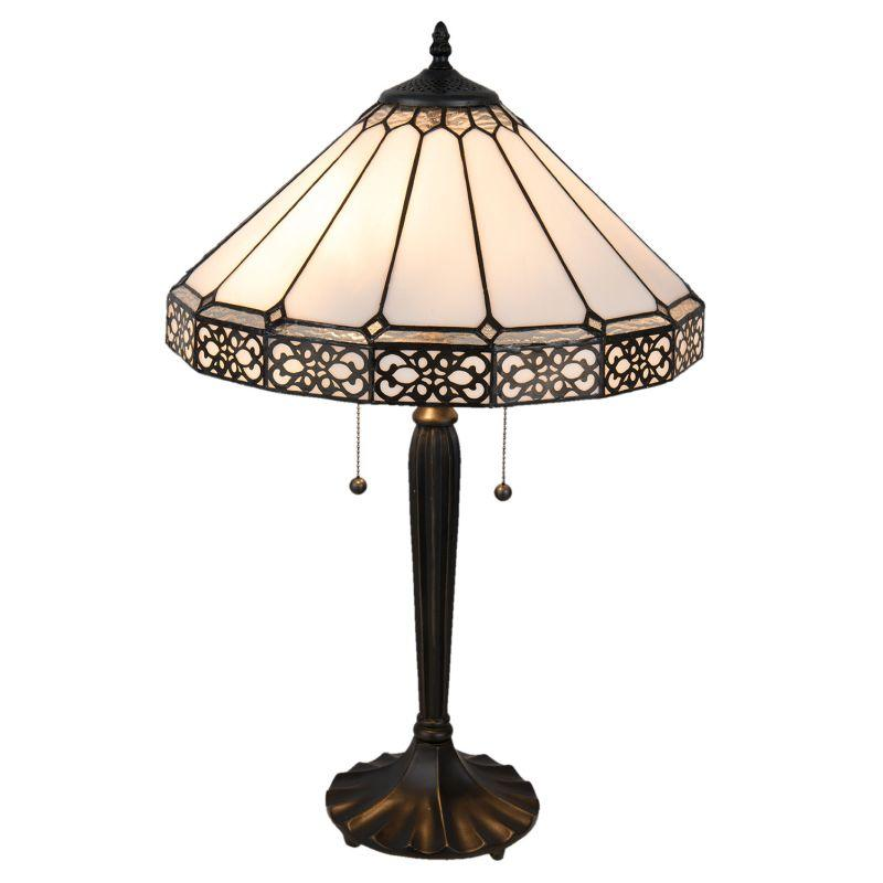 1- Stolní lampa Tiffany