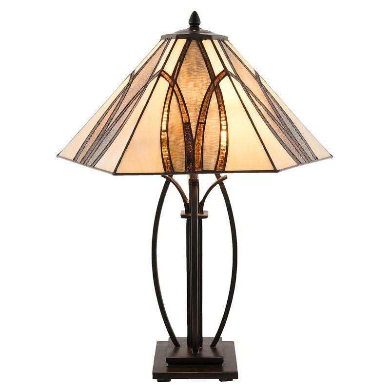 Stolní lampa Tiffany