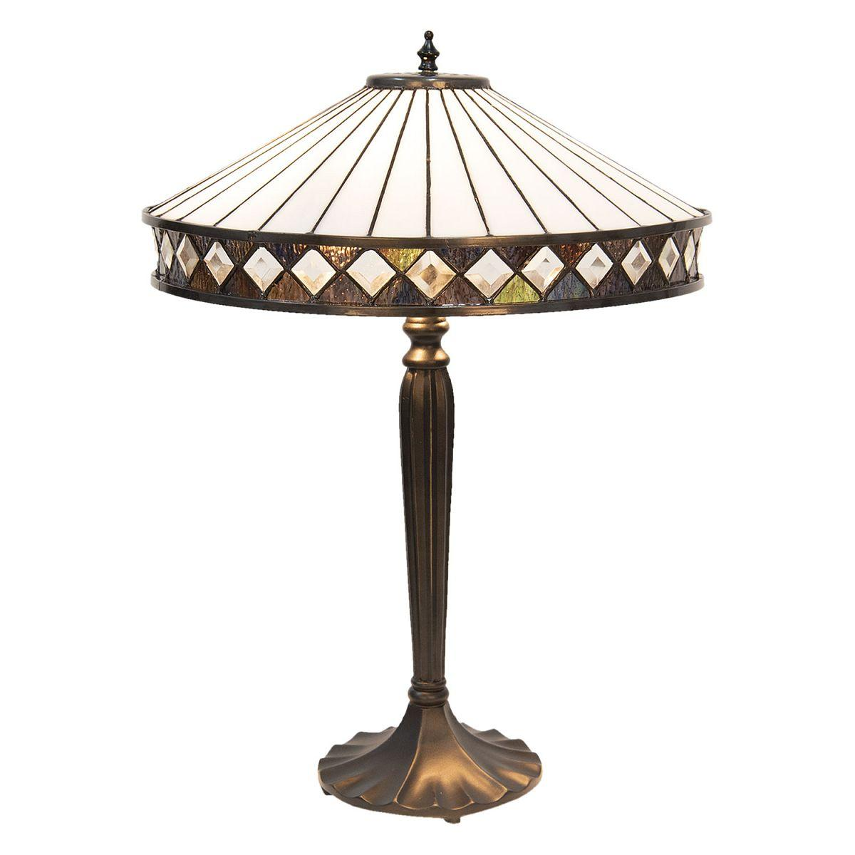 1- Lampa Tiffany stolní