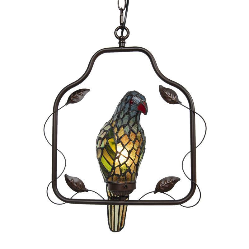 Závěsná lampa Tiffany