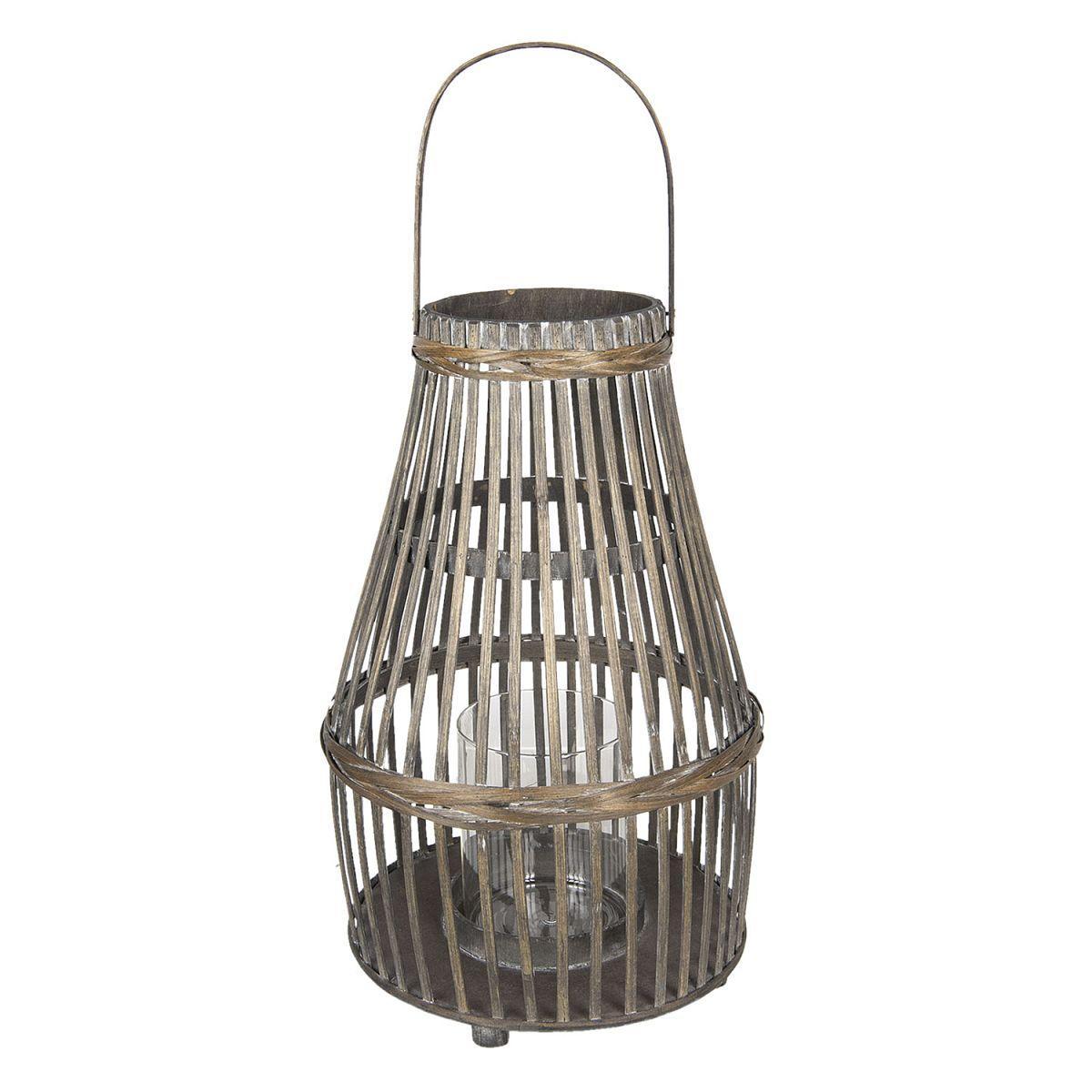 1- Bambusová lucerna