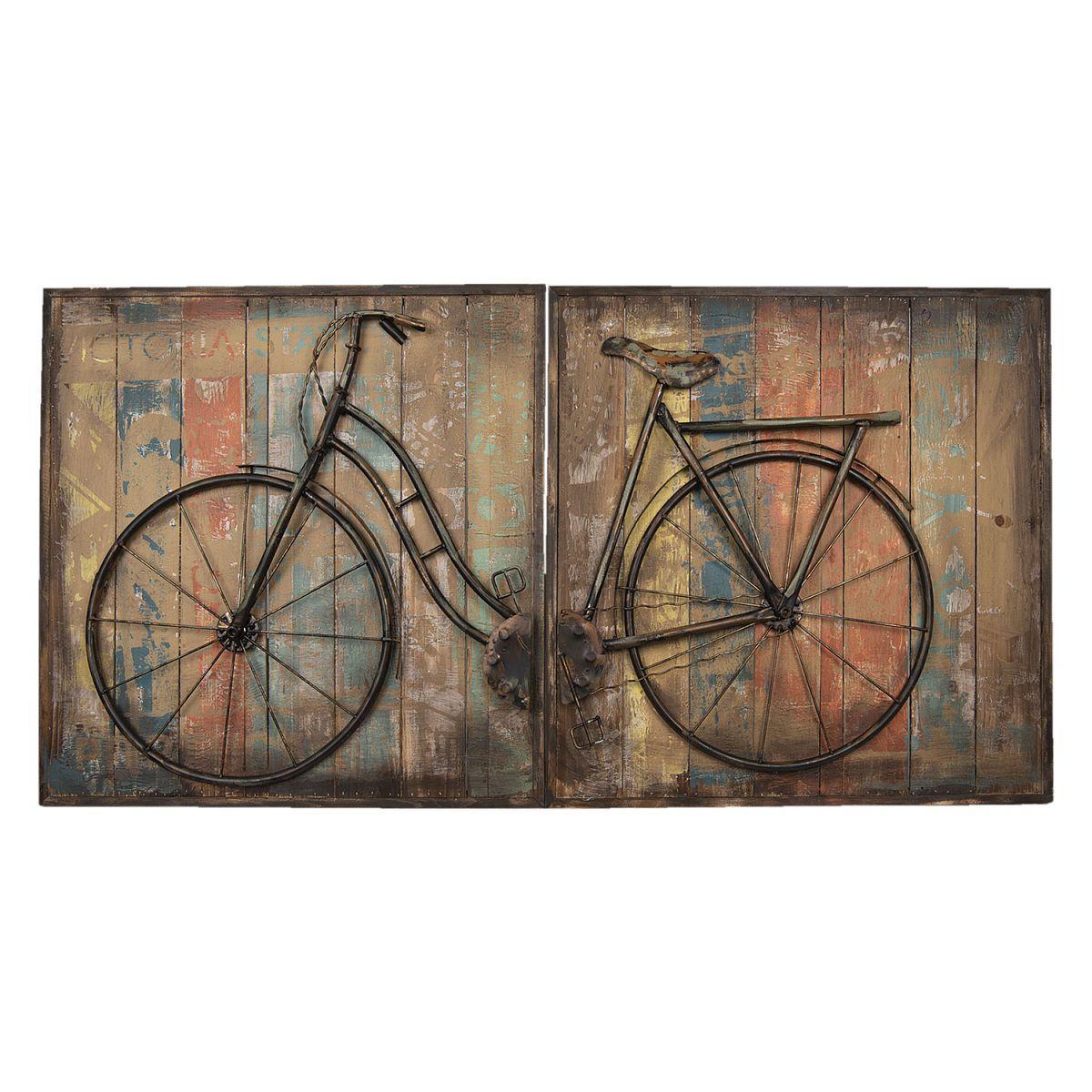 Kovový obraz BICYCLE