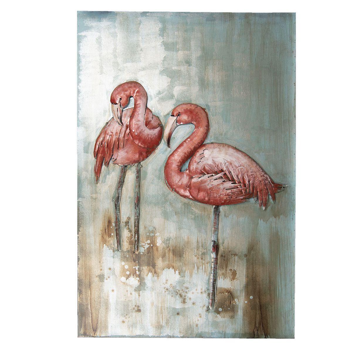 Kovový obraz BIRDS