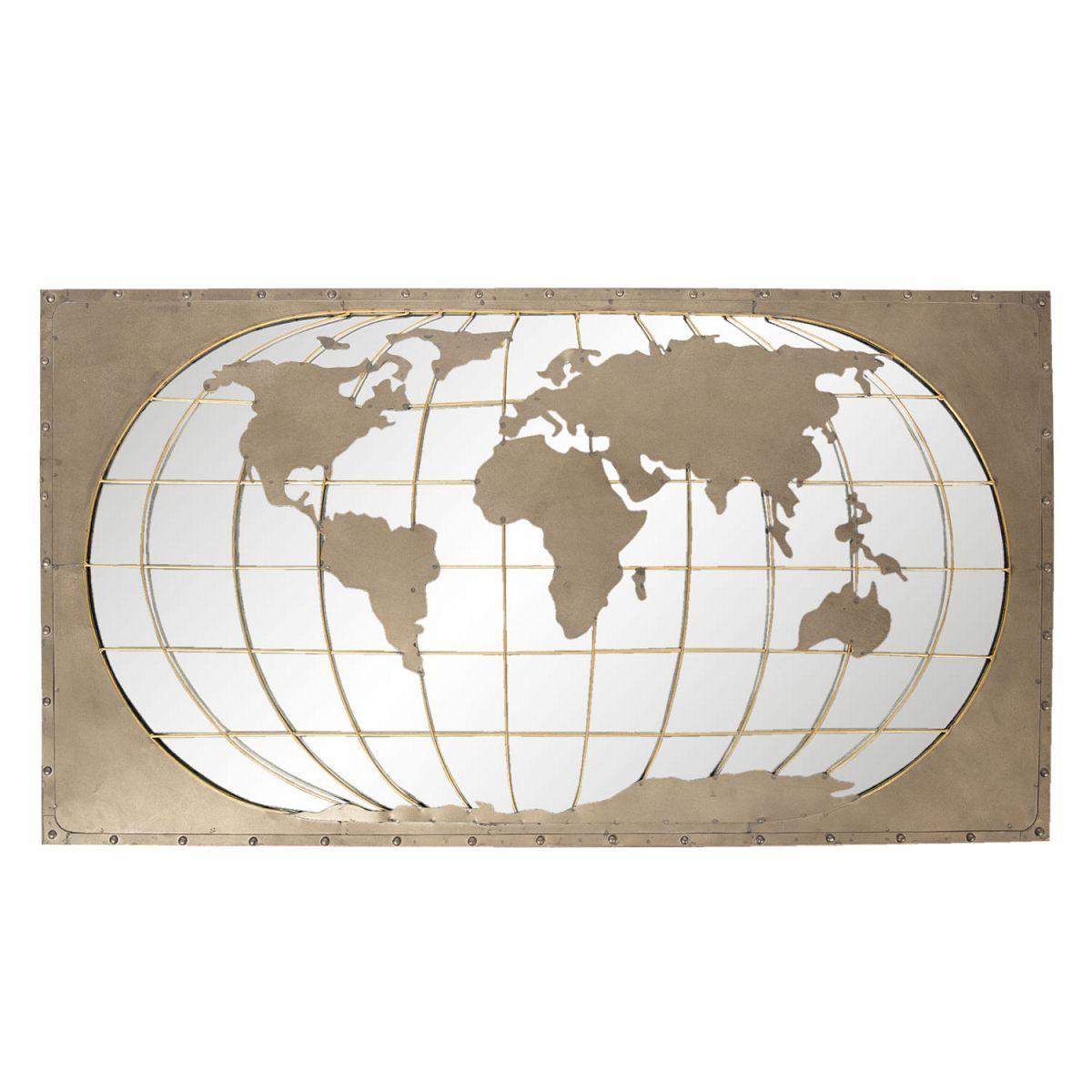 Nástěnná dekorace WORLD MAP