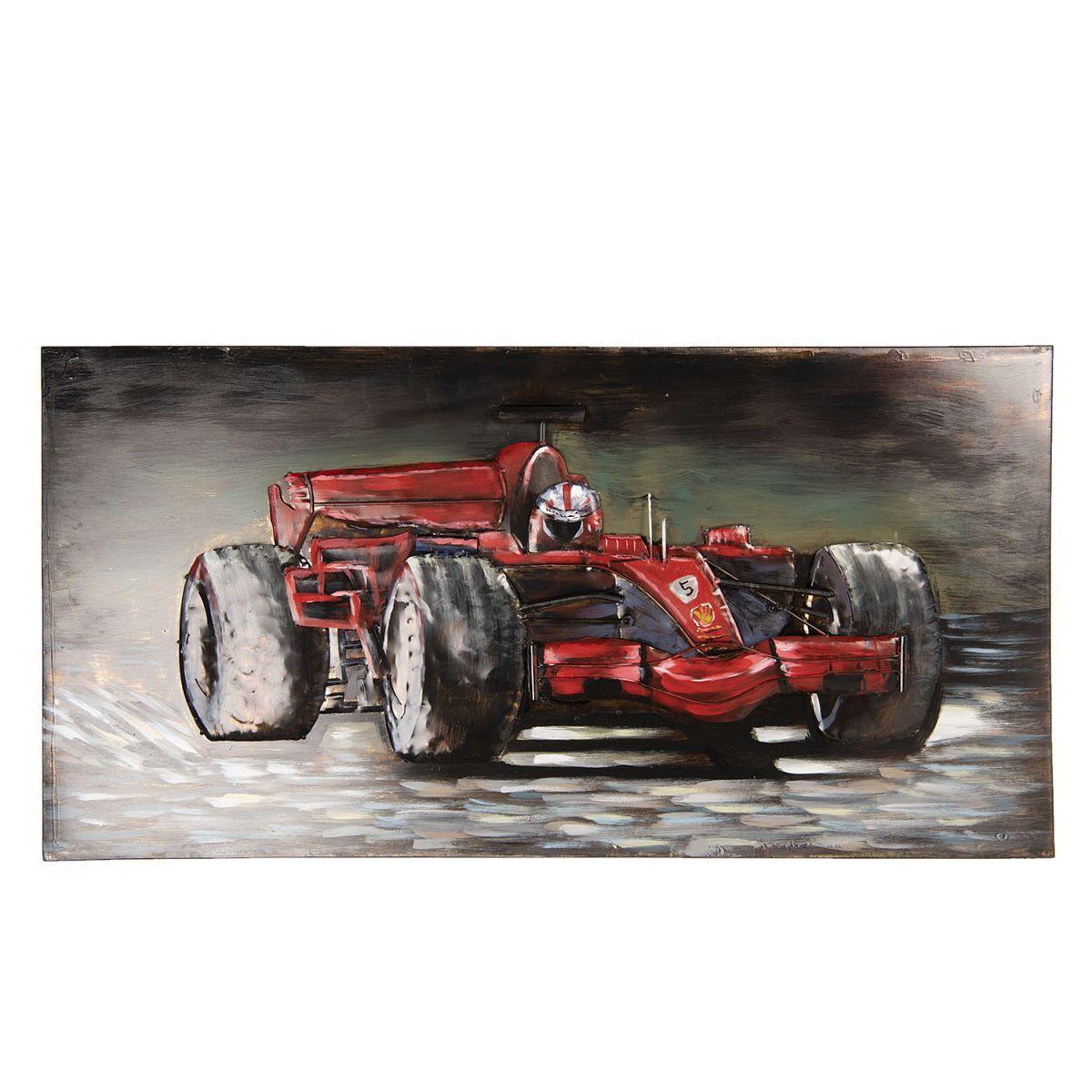 Kovový obraz F1 RACE CAR