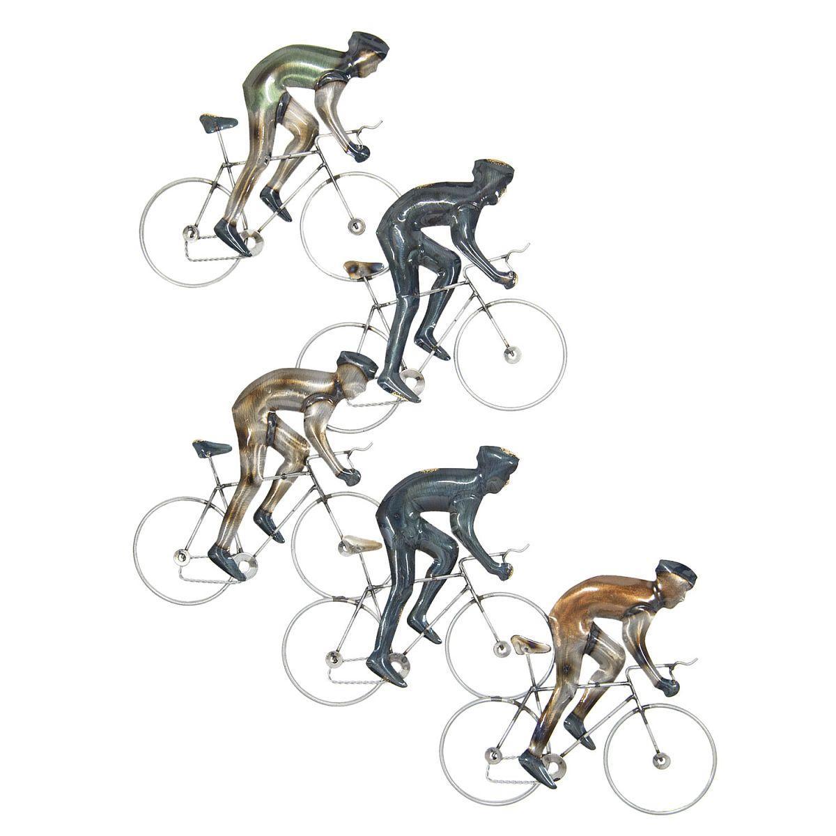 Nástěnná dekorace cyklisté