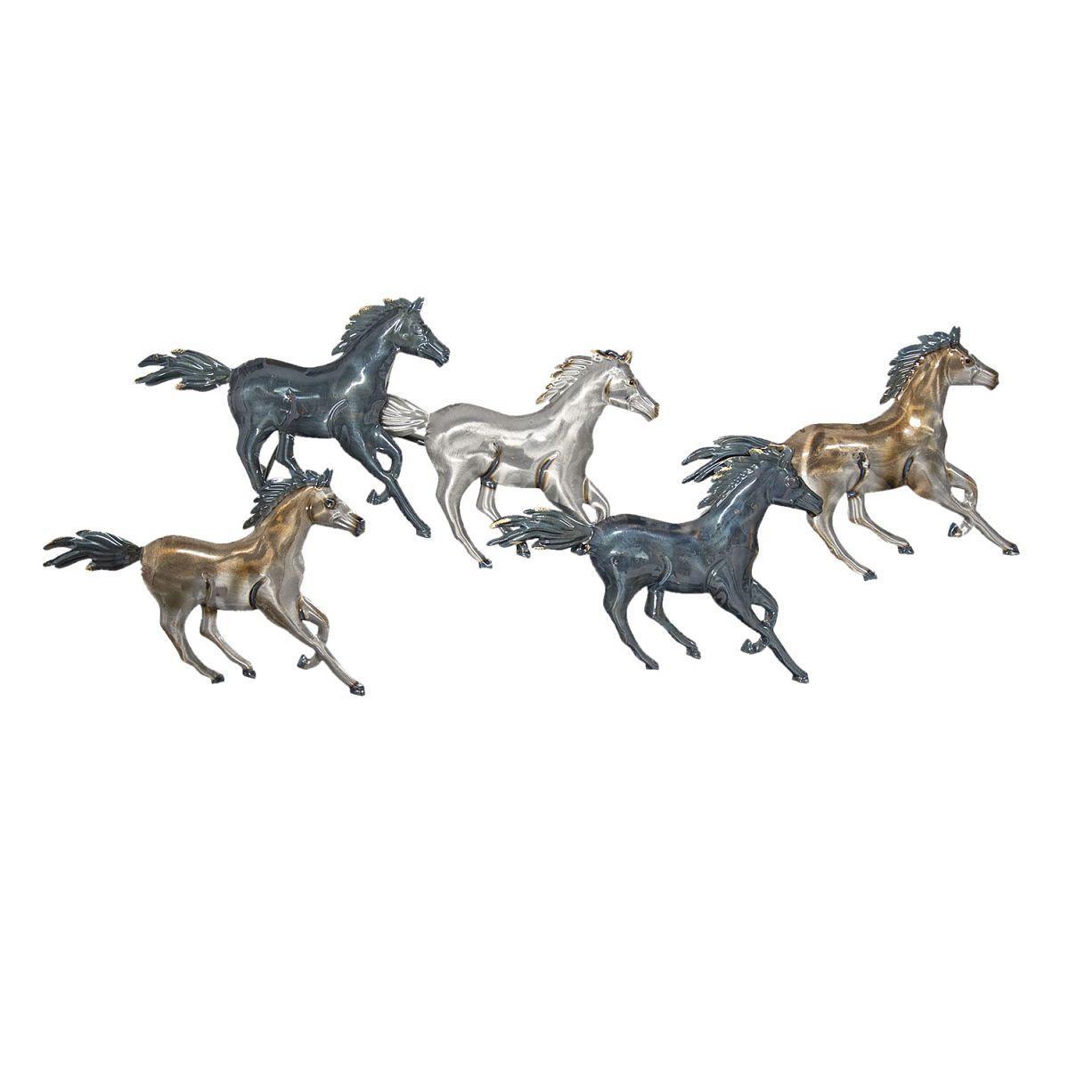 Nástěnná dekorace koní