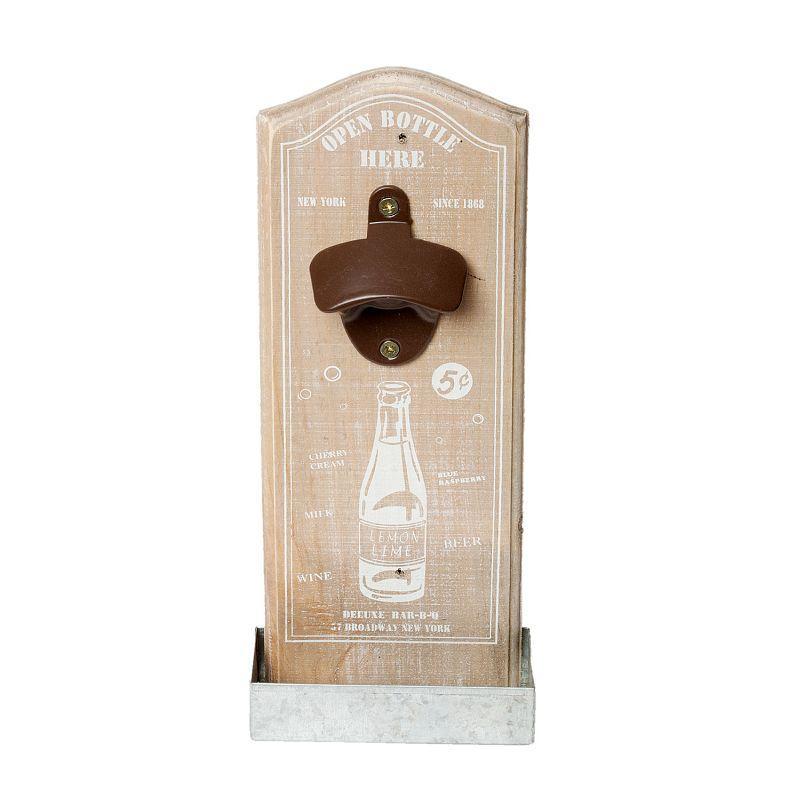 Nástěnný otvírák lahví NEW YORK 1868