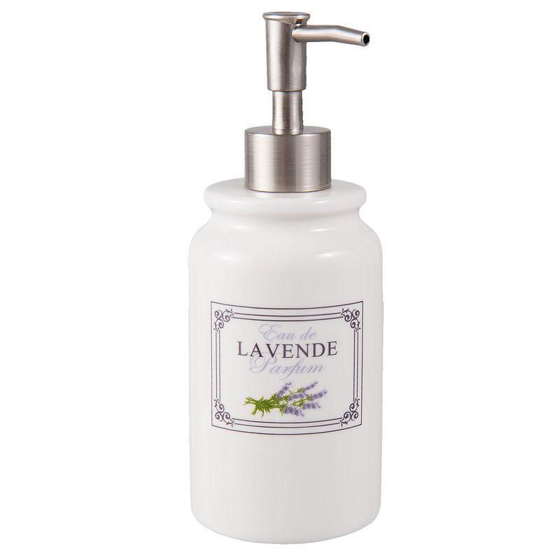Dávkovač na tekuté mýdlo nebo pleťové mléko LAVENDE