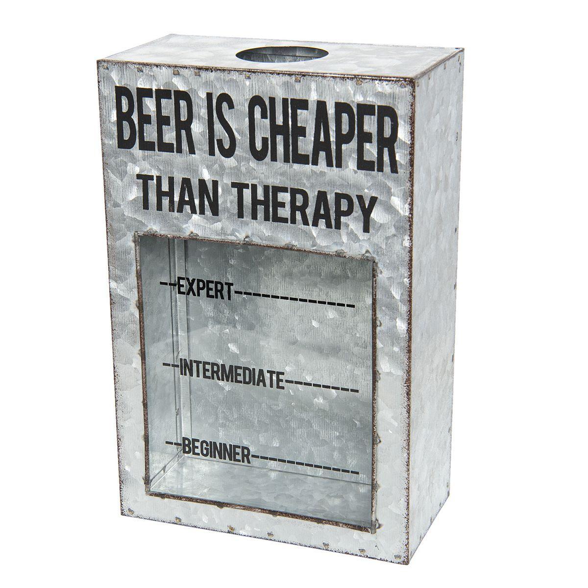 Box na pivní zátky