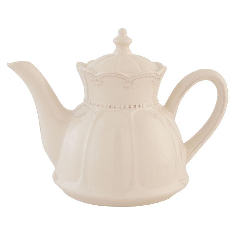 Keramická konvička na čaj RUSTIC ROMANCE