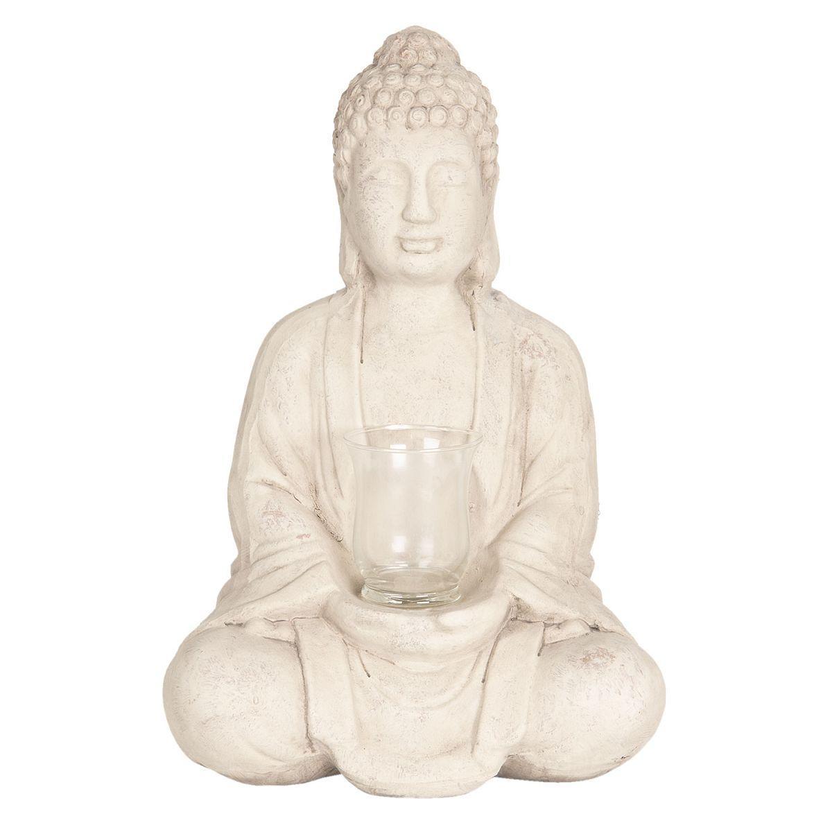 Svícen na čajovou svíčku BUDDHA