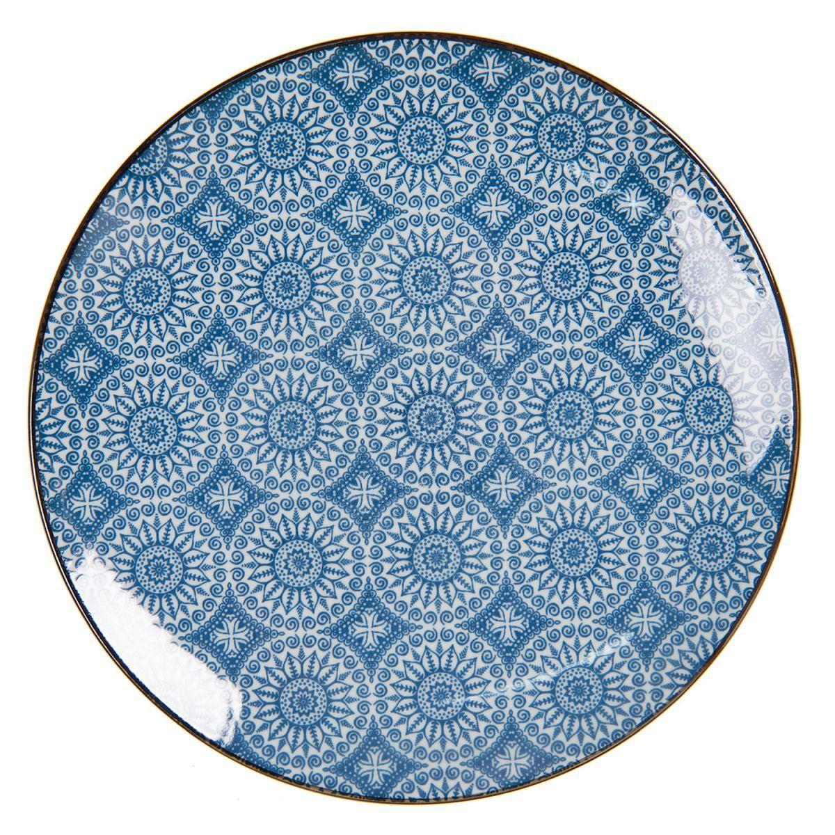 Dezertní talíř BLUE ORNAMENT
