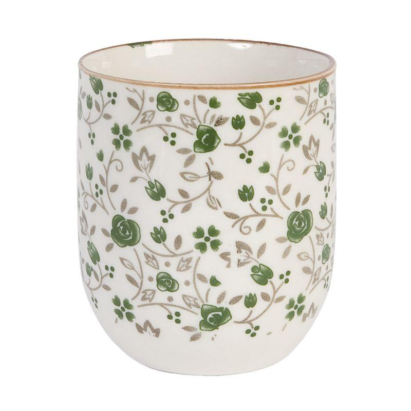 1- Keramický kalíšek na čaj