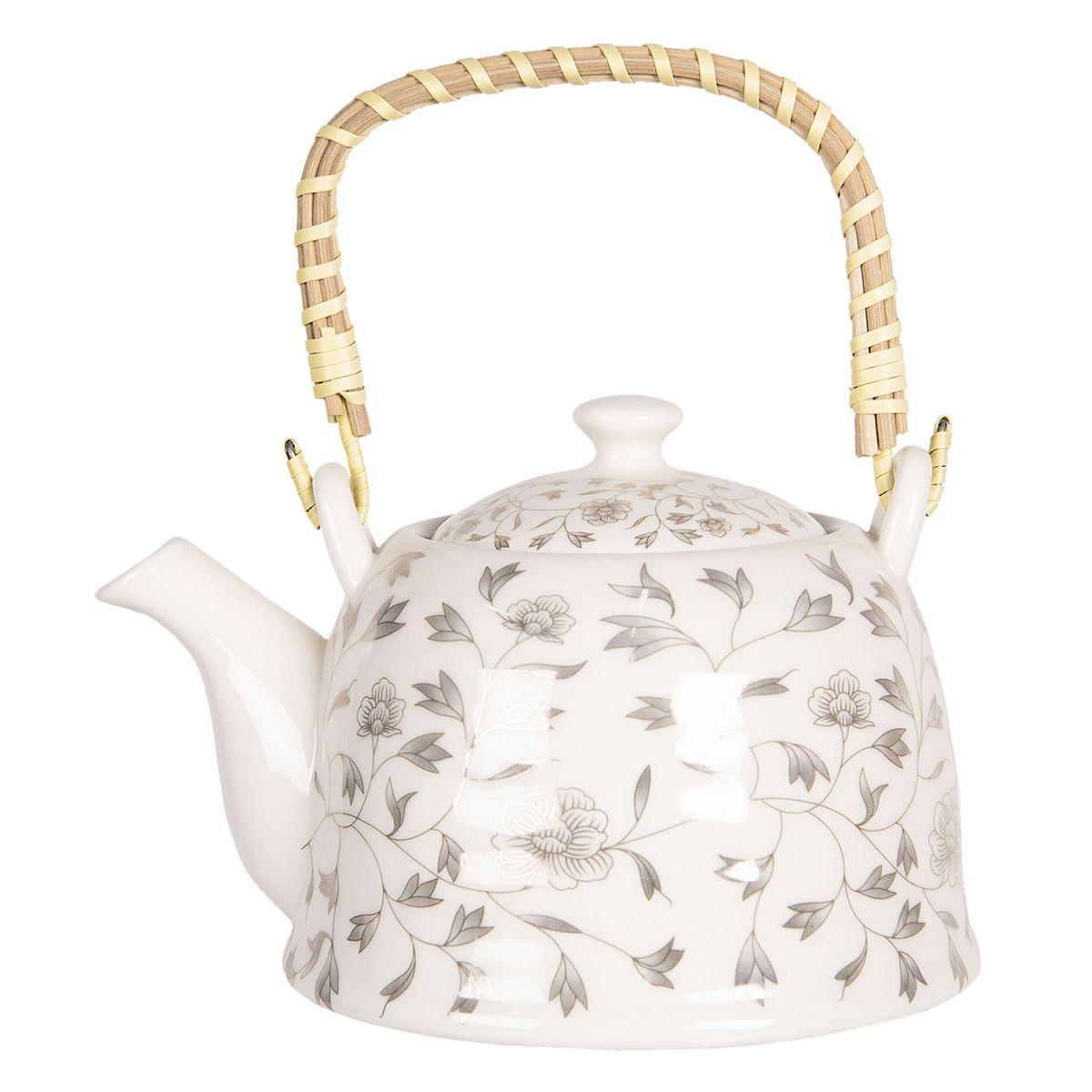 1- Keramická konvička na čaj