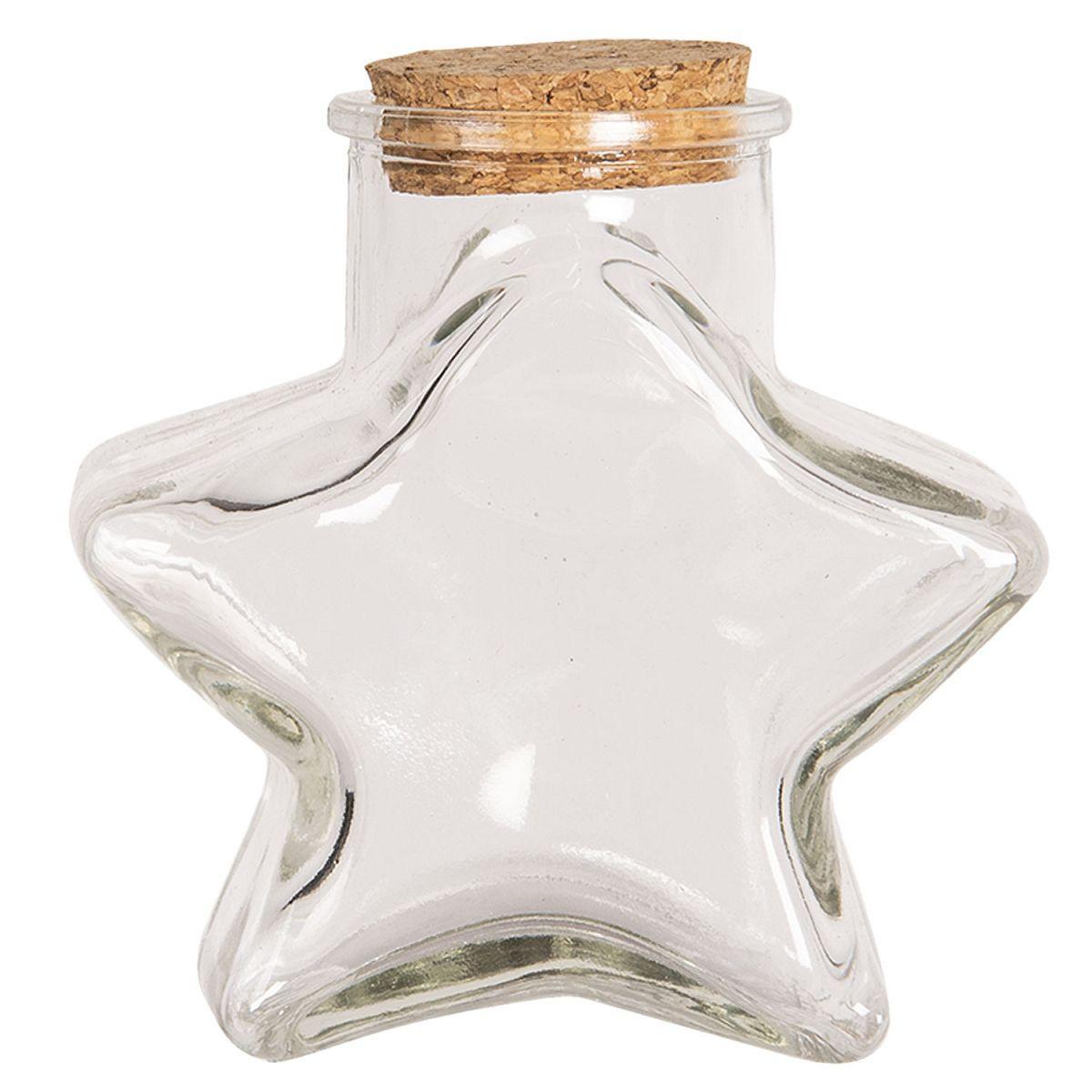 1- Dekorativní lahvička STAR