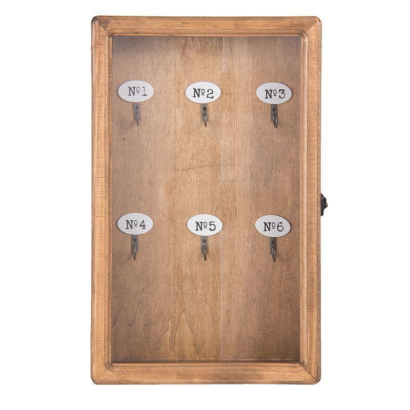 Skříňka na klíče přírodní