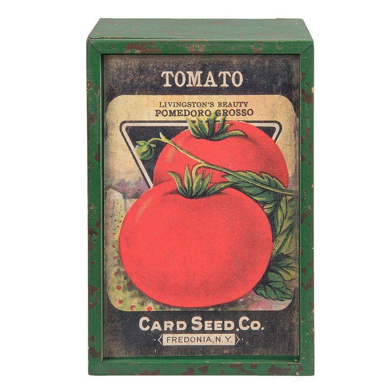 Dřevěná krabička TOMATO
