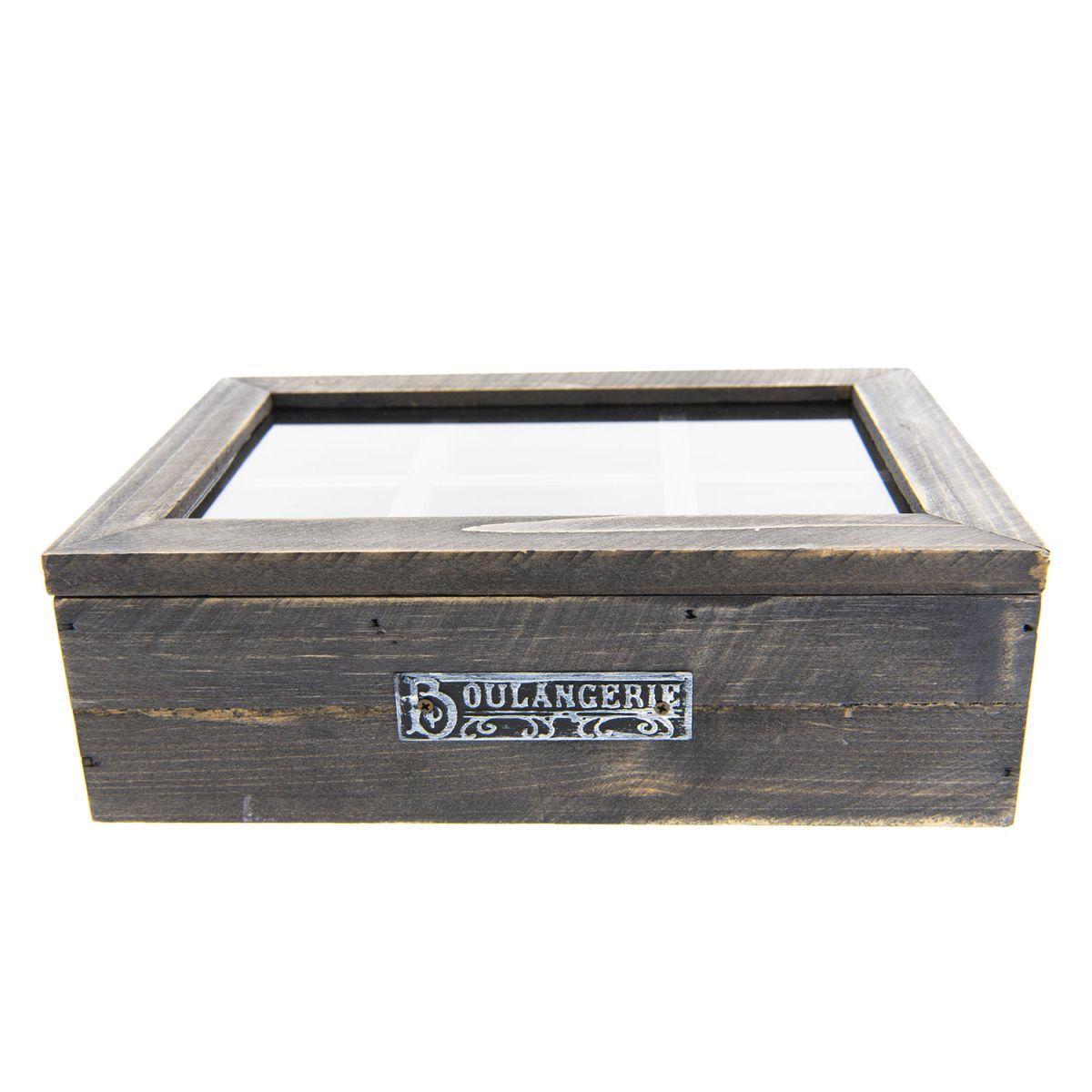 Krabička na čajové sáčky BOULANGERIE