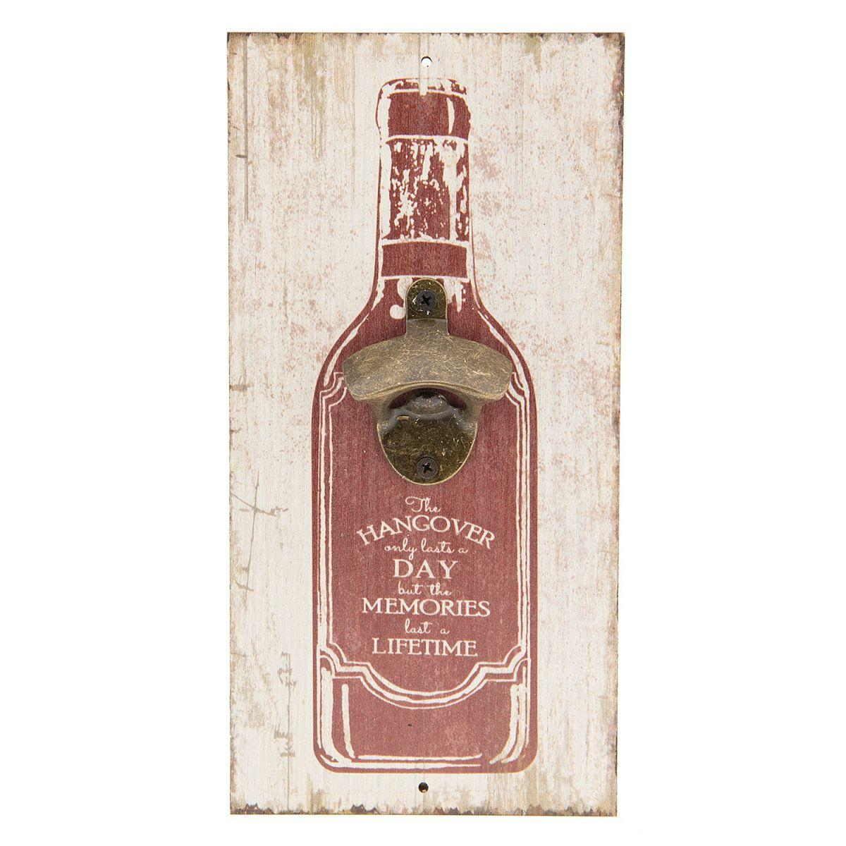 Nástěnný otvírák lahví HANDGOVER