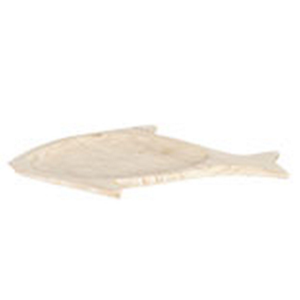 Dřevěný tác ve tvaru ryby 51*28*3 cm