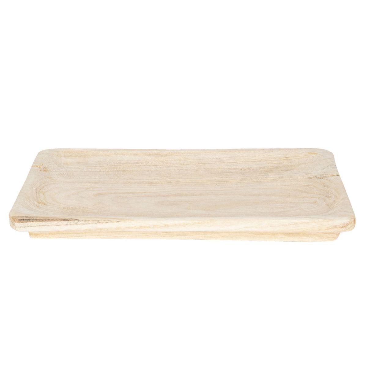 Dřevěný tác 41*28*4 cm