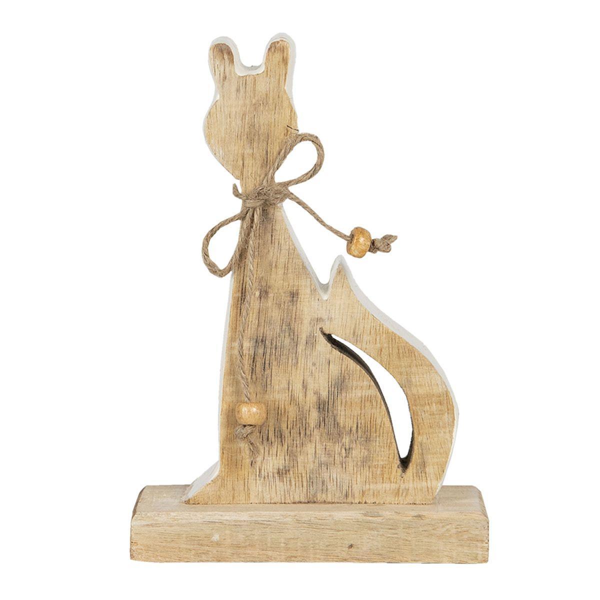 1- Dřevěná kočka