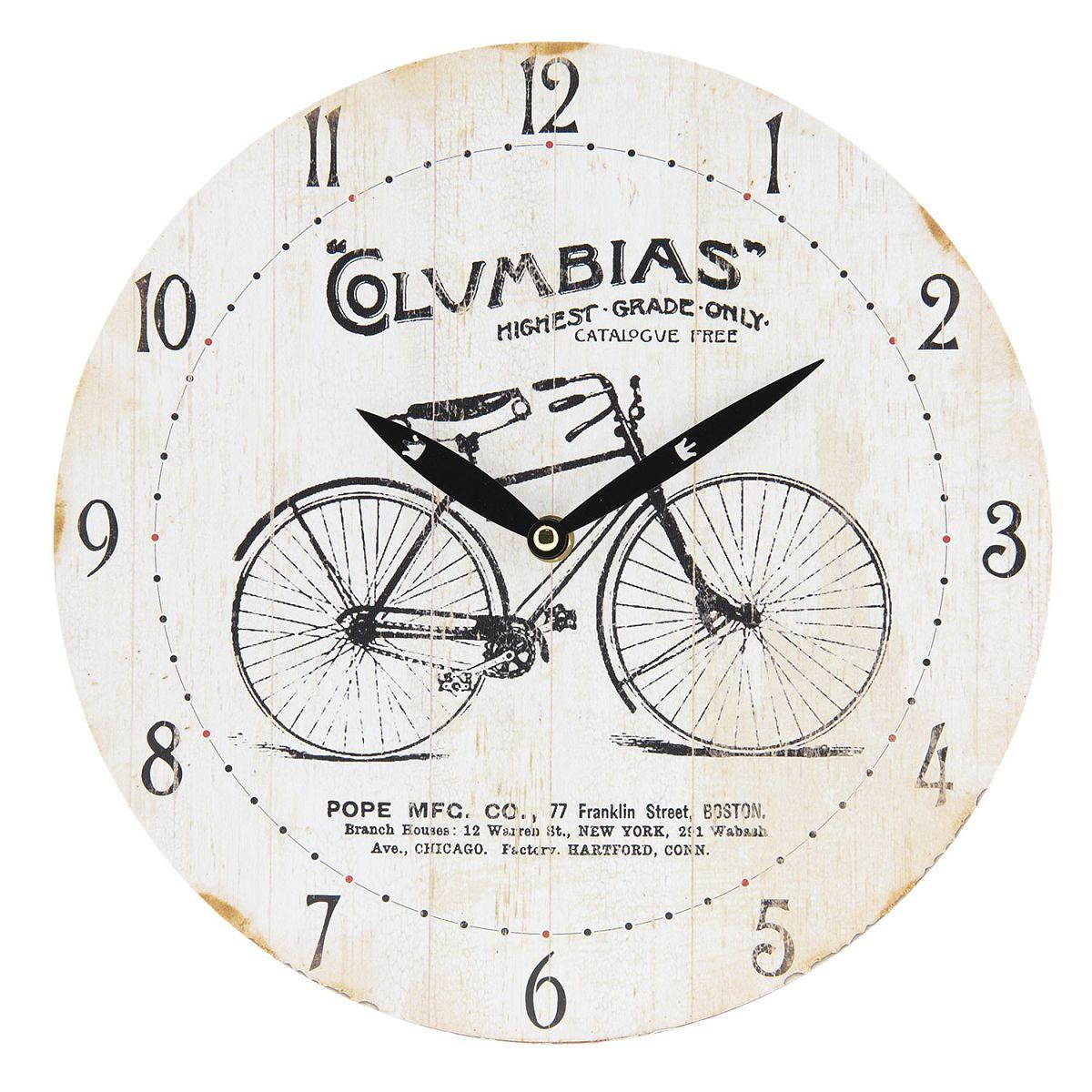 Nástěnné hodiny COLUMBIAS průměr 29 cm