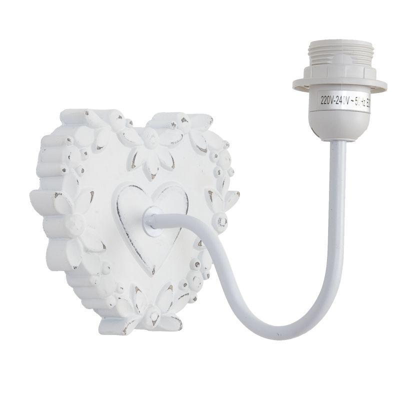 Nástěnná lampa bez stínítka