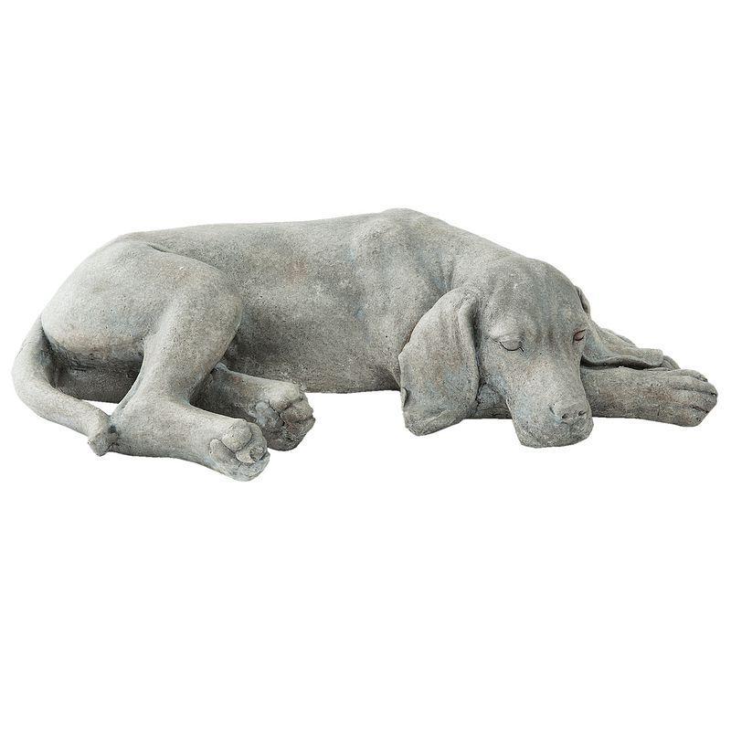 1- Ležící pes