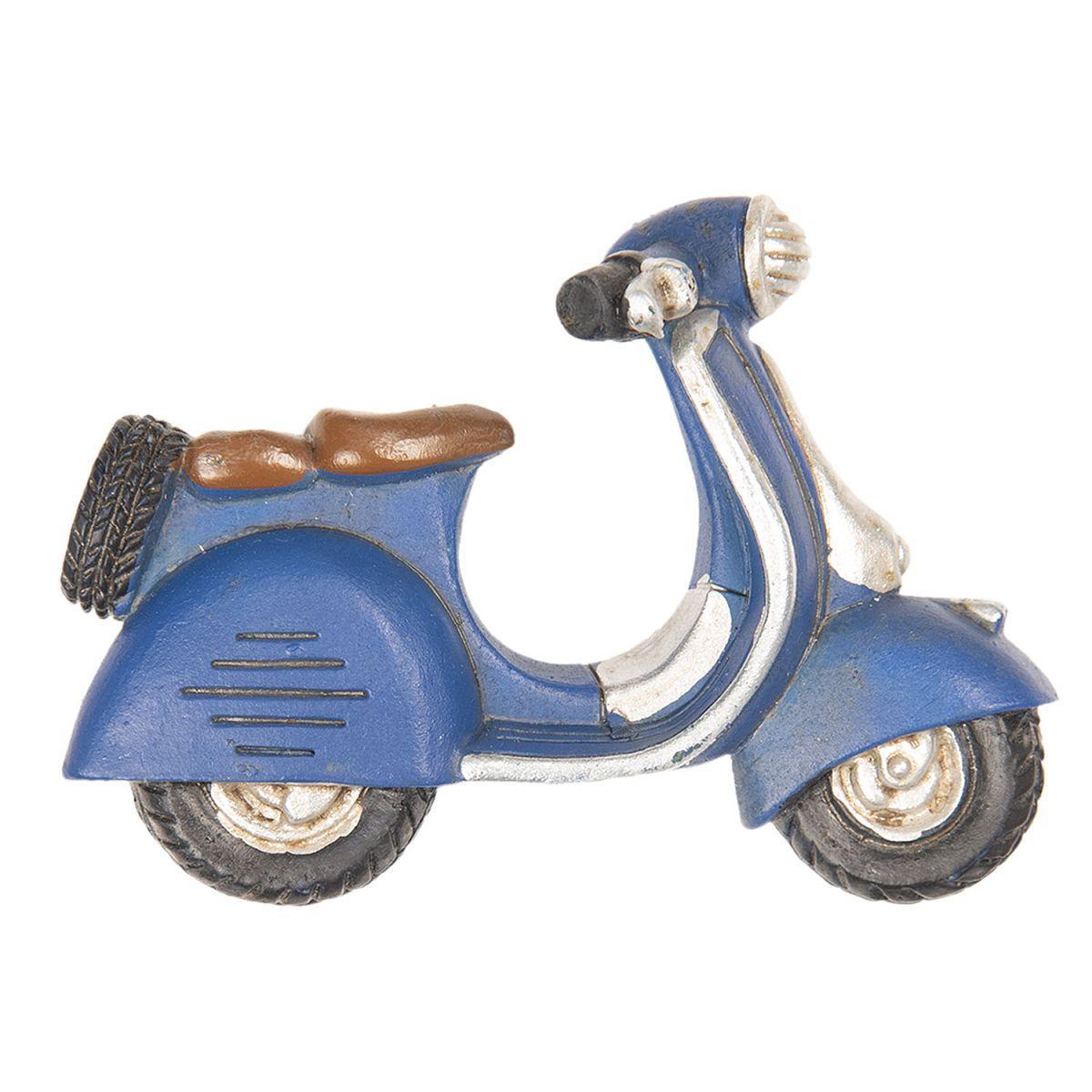 1- Magnetka SKÚTR modrý