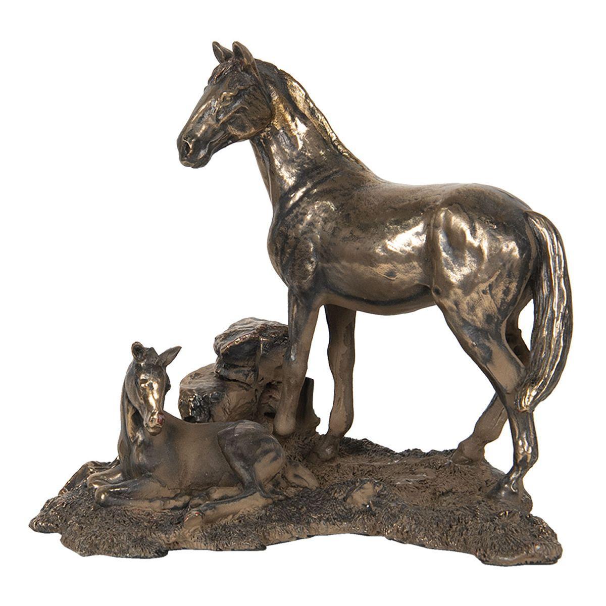 1- Dekorativní kůň se hříbátkem