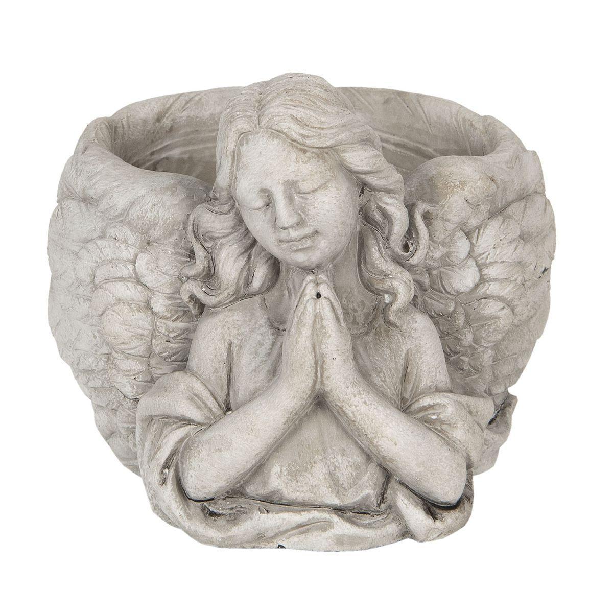 Kameninový květináč Anděl