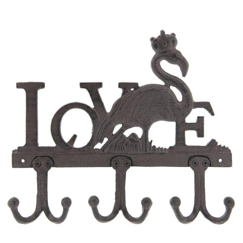 Nástěnný věšák LOVE