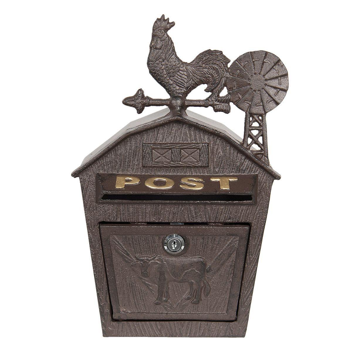 Poštovní schránka s kohoutem