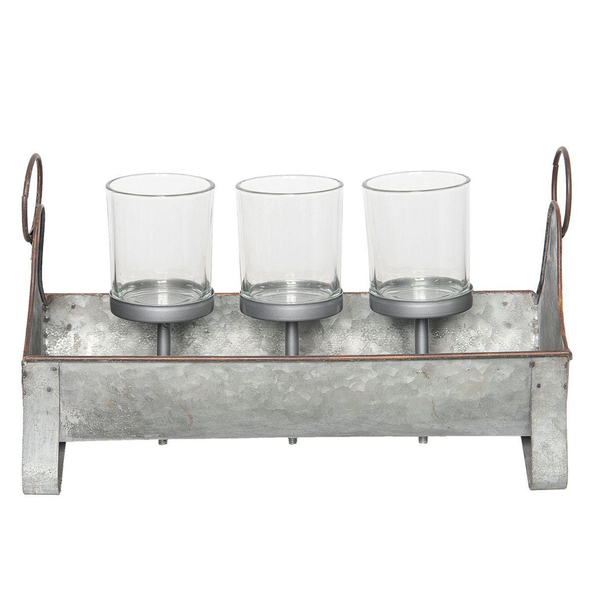 1-Svícen na čajové svíčky