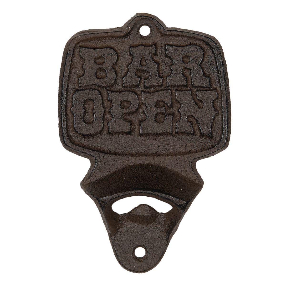 Nástěnný otvírák lahví BAR