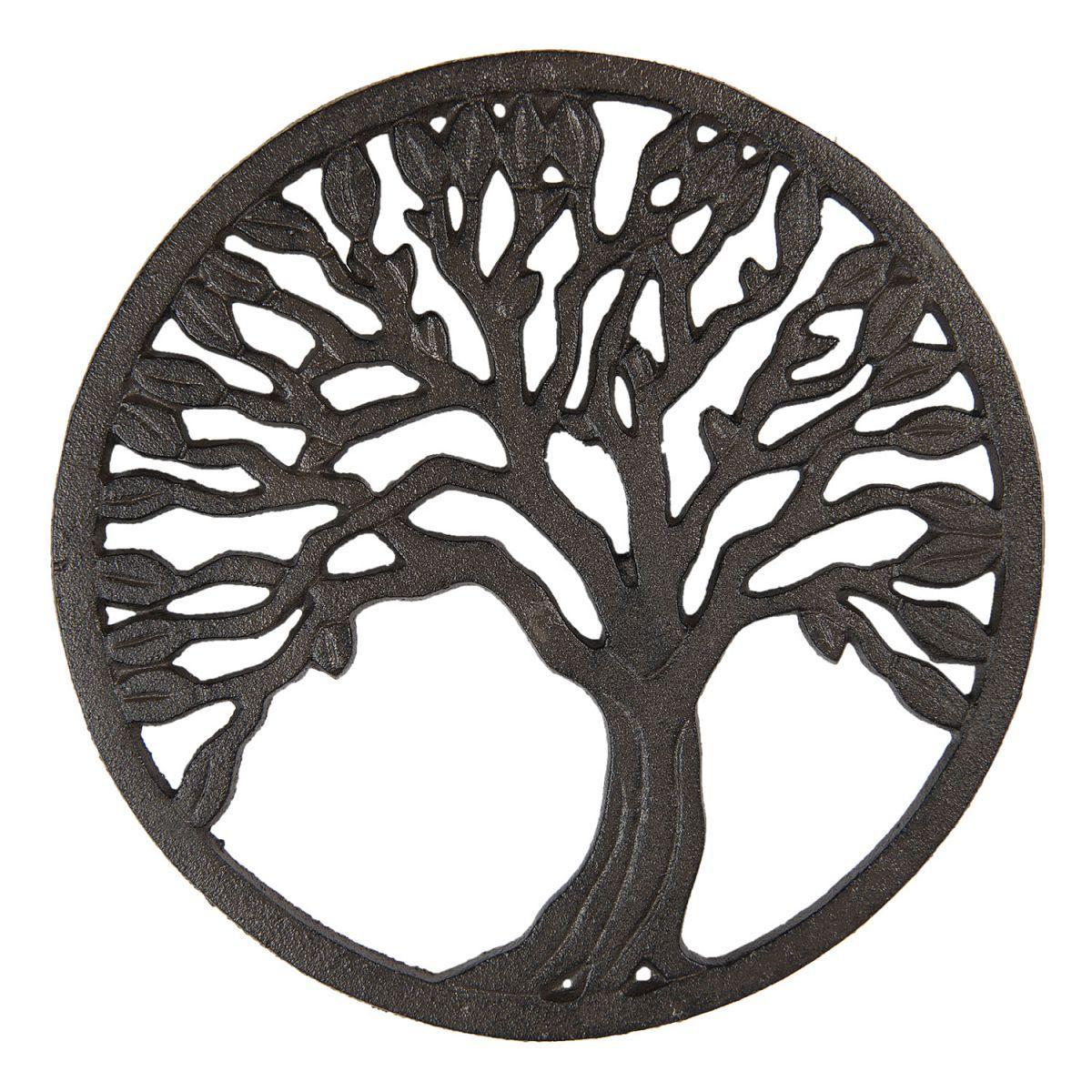 1- Kovová podložka pod nádobí TREE