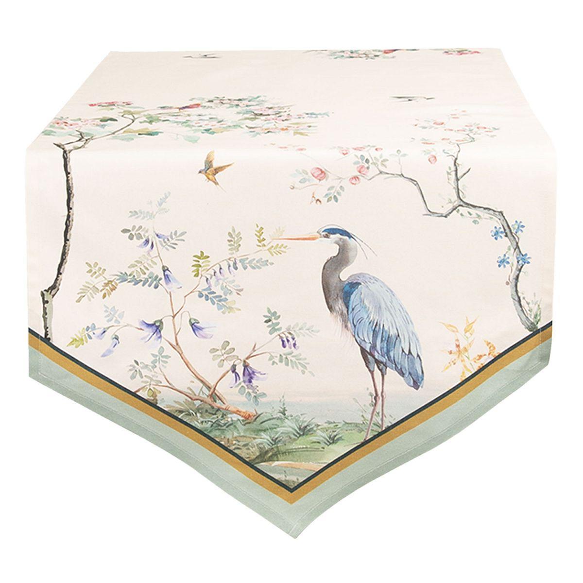 1- Běhoun na stůl BIRDS IN PARADISE 50*160 cm