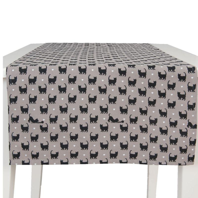 Běhoun na stůl CAT LOVERS 50*140 cm