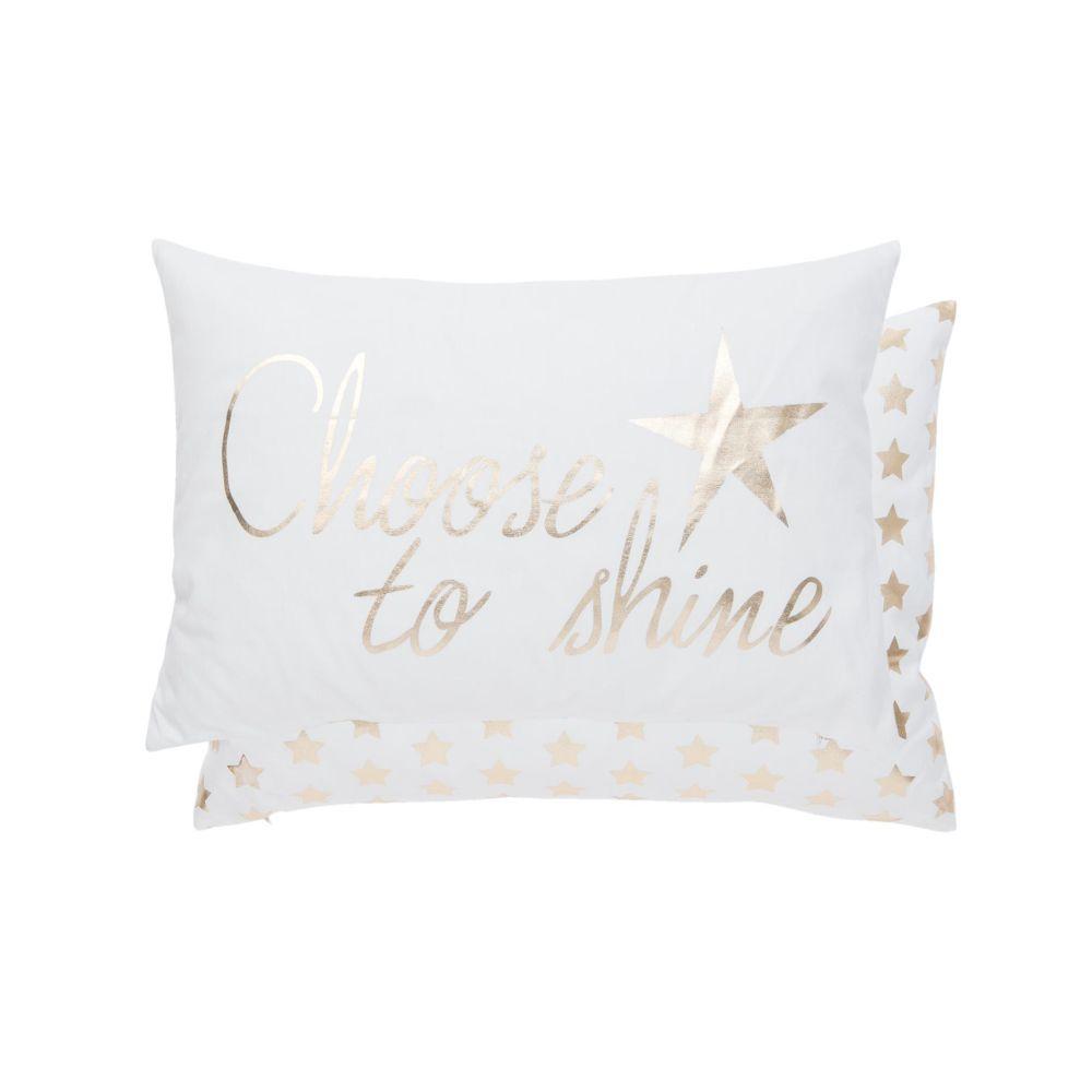 Polštář s výplní Choose to Shine 50*35 cm