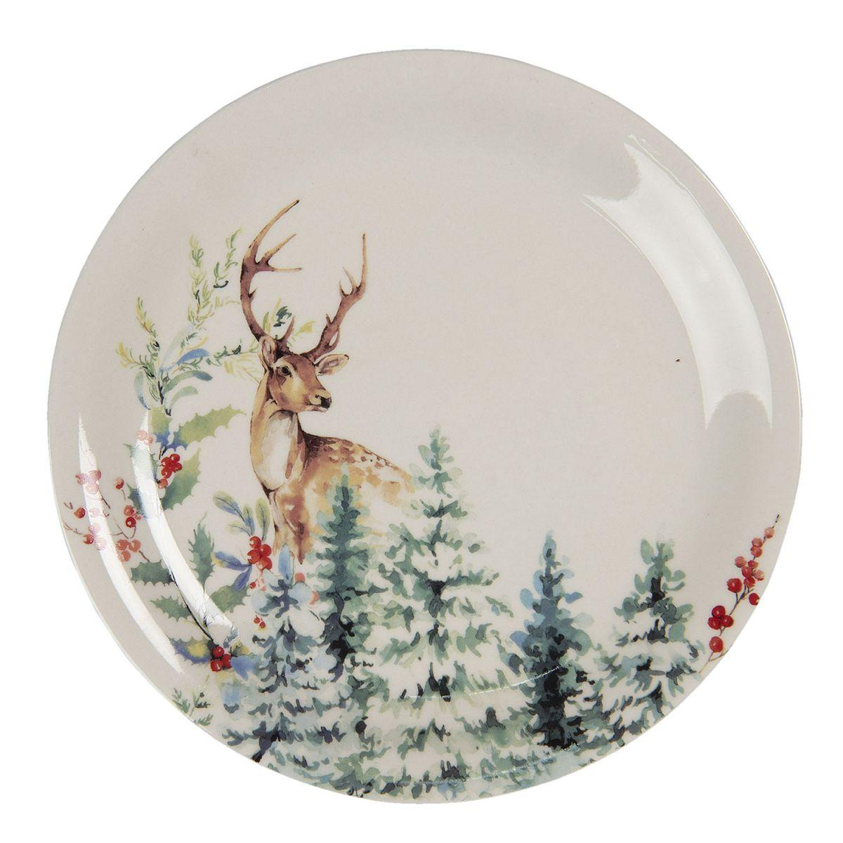 Dezertní talíř DEARLY CHRISTMAS