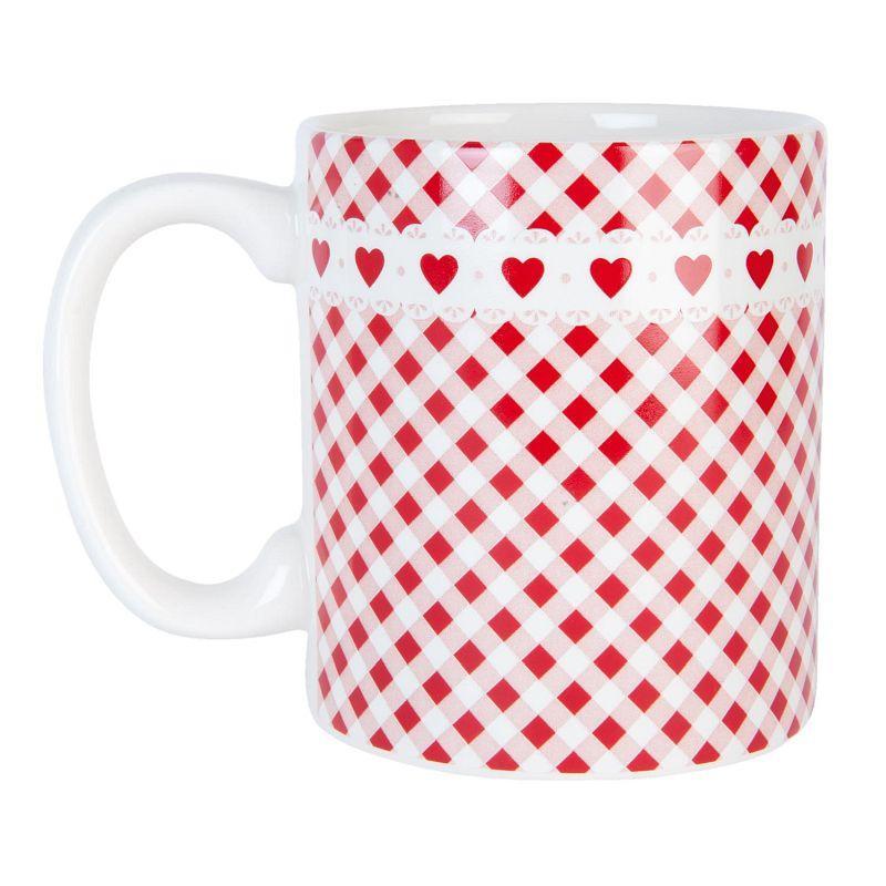 Keramický hrníček Dots & Hearts