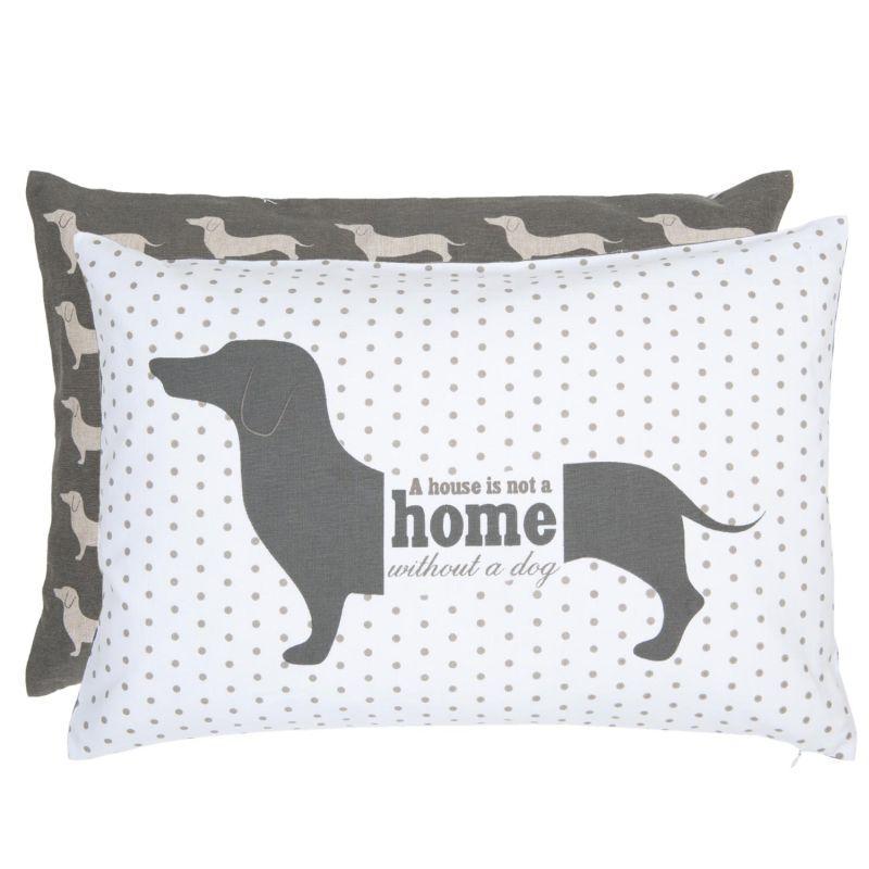 Polštář s výplní For Dogs Only 50*35 cm