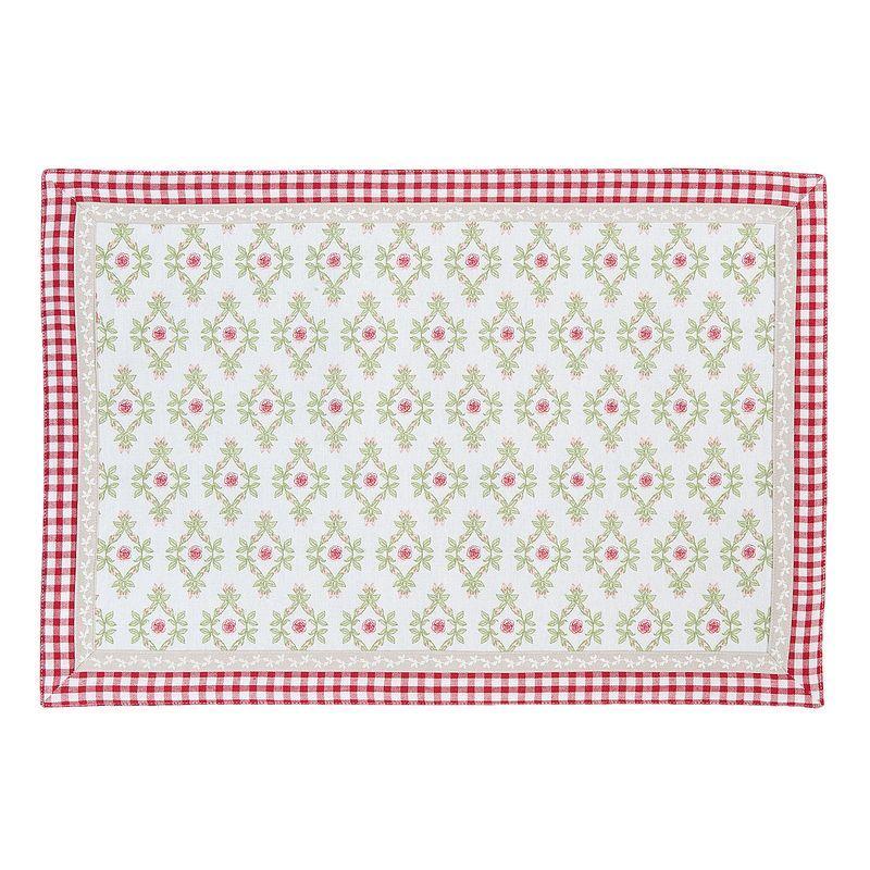 Textilní prostírání GARDEN OF ROSES 48*33 cm - sada 6 kusů