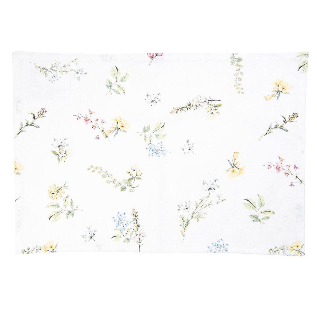 1- Textilní prostírání HAPPY FLORALS 48*33 cm /ks