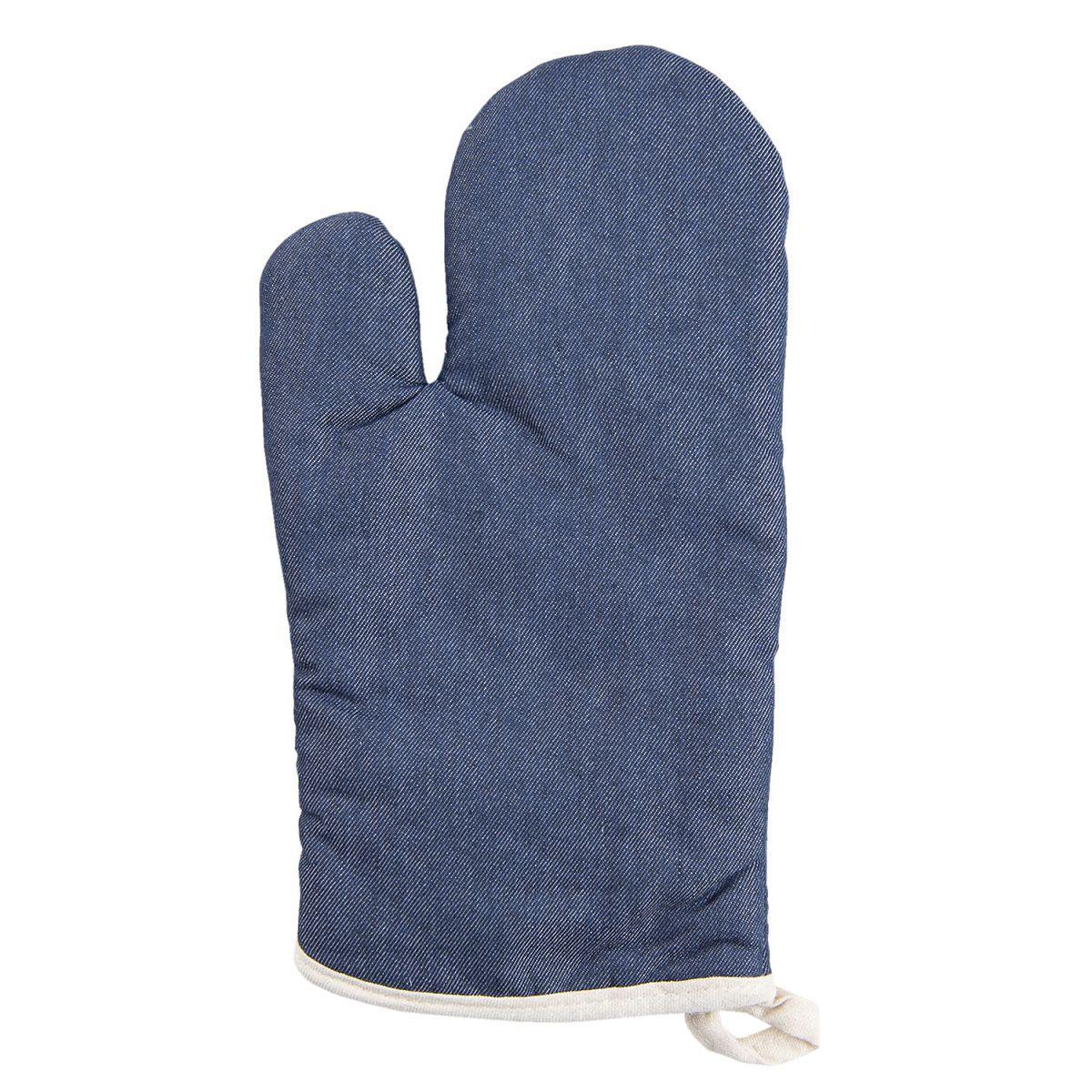 1- Chňapka v džínovém designu 15*33 cm